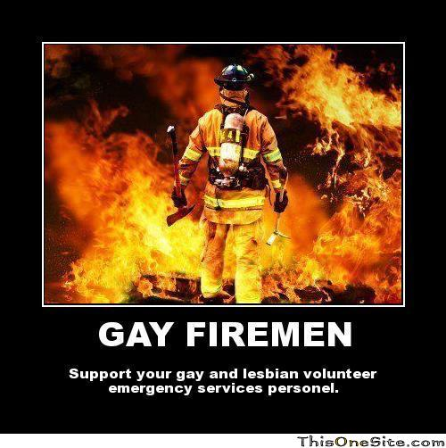 Gay Firefighters Work Quietly In San Francisco