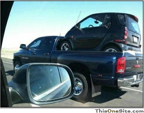 Smart Car Picl Up Truck  This One Site